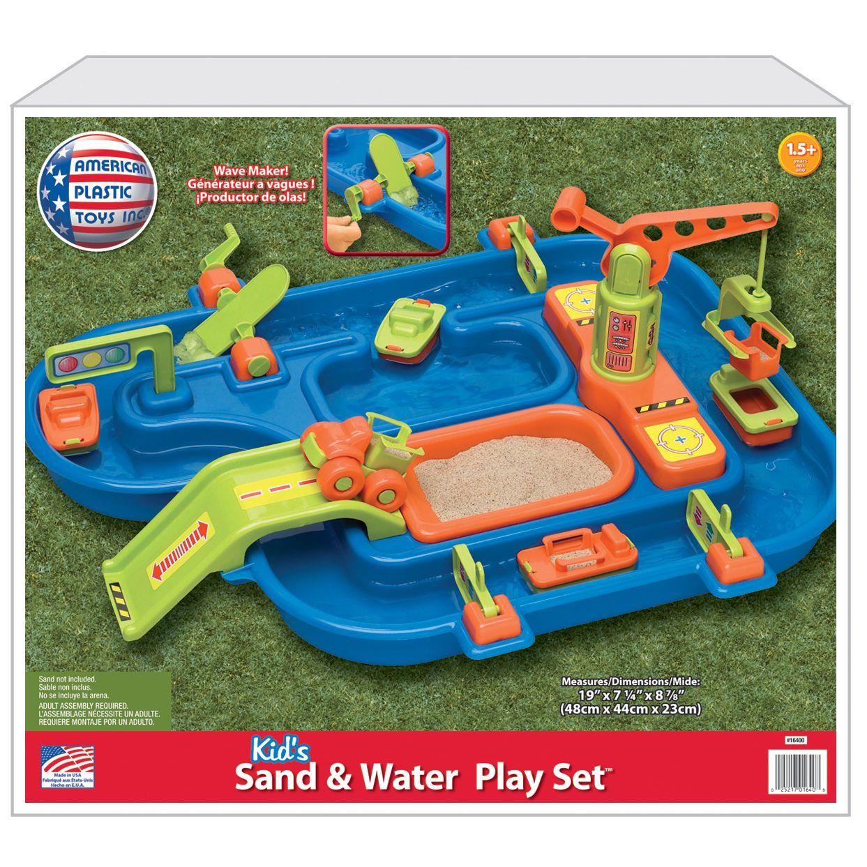 American Plastic - Set de juego Arena y Agua
