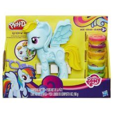 Play Doh - MLP Rainbow Dash Peinados de Colores