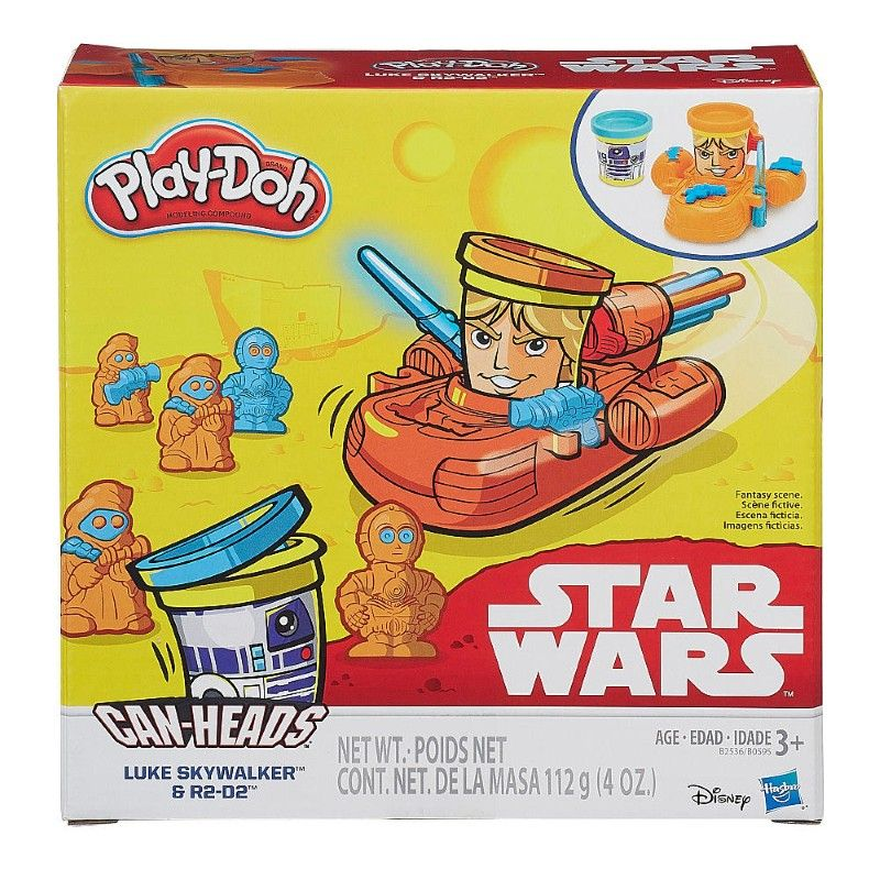 Play Doh - Pack x2 Masas Star Wars R2-D2