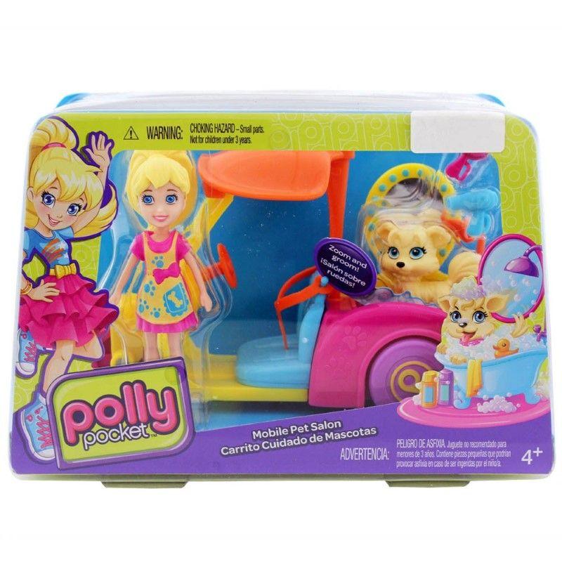 Polly Pocket - Auto Cuidado de Mascotas