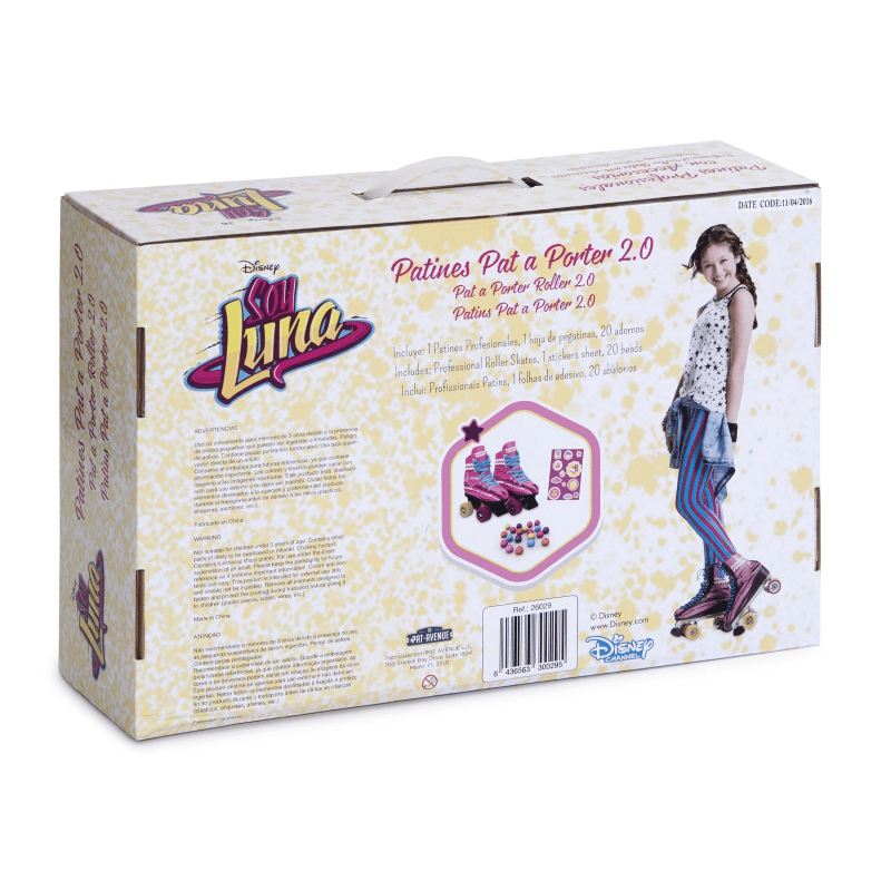 Patines Soy Luna Profesionales