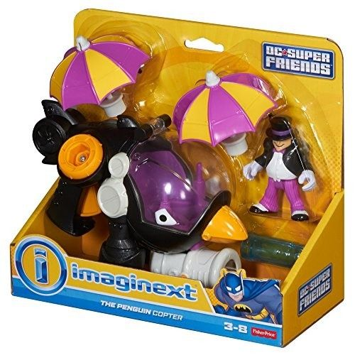 Fisher Price Imaginext - Helicóptero del Pingüino