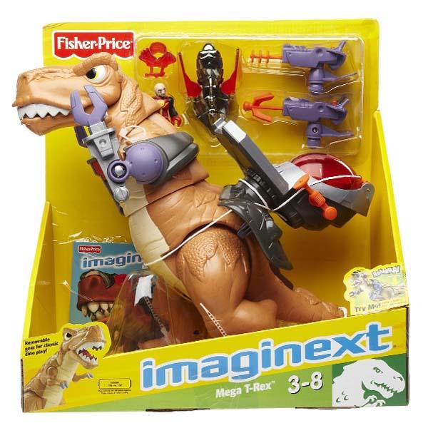Fisher Price Imaginext - Dinosaurio Mega T-Rex
