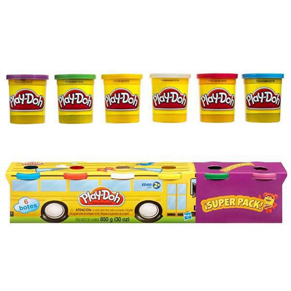 Play Doh - Pack x4 Masas + 2 de Regalo
