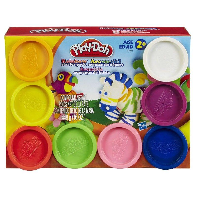 Pack Arcoiris x8 Masas de Moldear - Play Doh