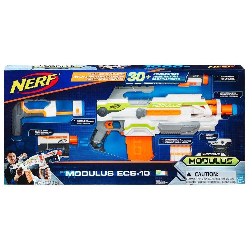 Nerf - Pistola Modulus ECS-10 Modificable