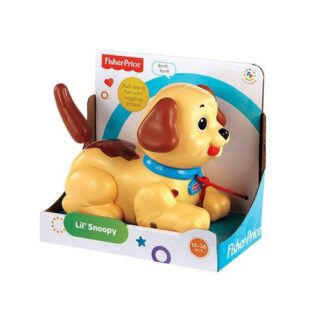 H9447 Fisher Price - Perrito de arrastre Snoopy