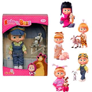 Muñeca Masha y el Oso con mascota