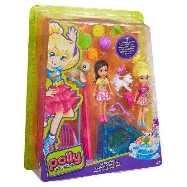 Polly Pocket - Juego con Mascotas