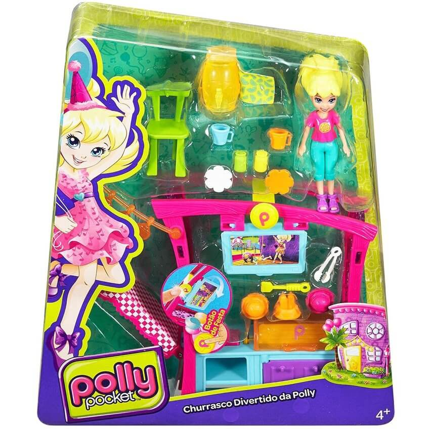Polly Pocket - Parrillada Divertida