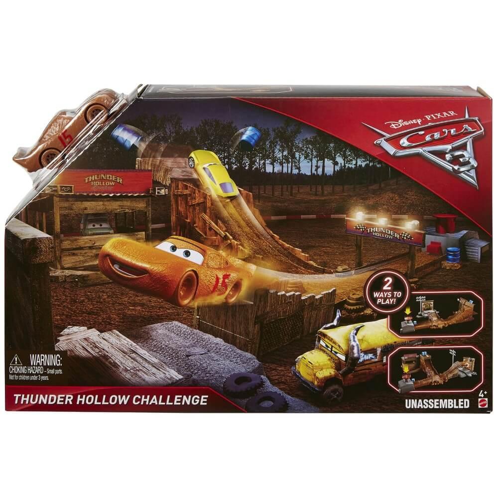 Cars 3 Pista Desafio Thunder Hollow
