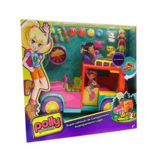 Polly Pocket - Supervehiculo de Campamento