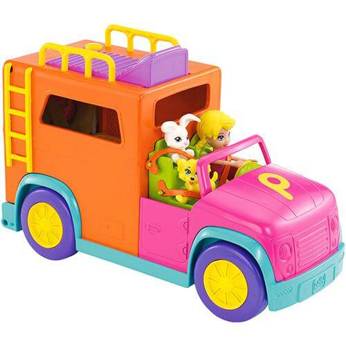 Polly Pocket - Supervehiculo de Campamento