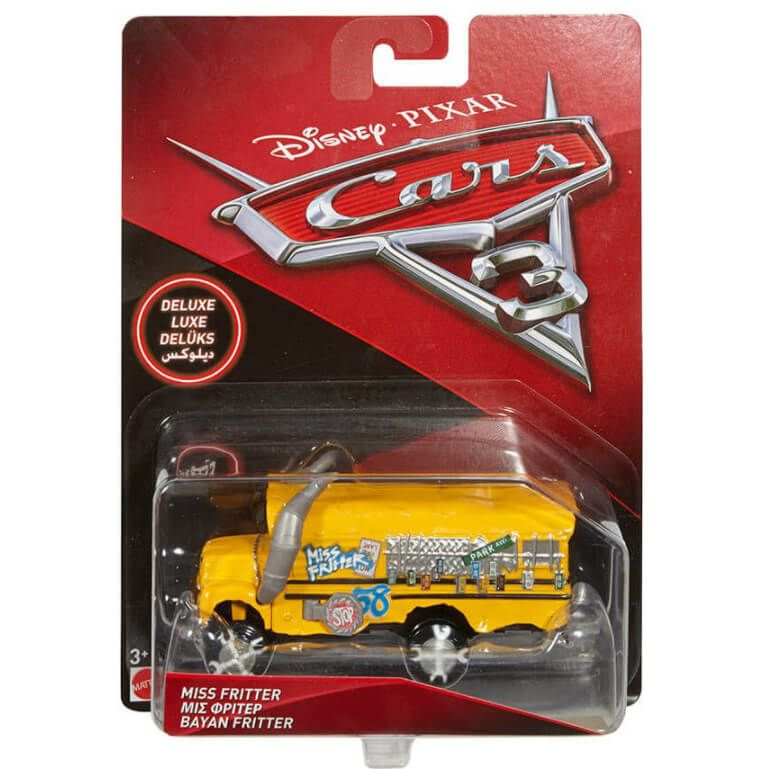 Cars 3 Vehiculo Escolar Miss Fritter