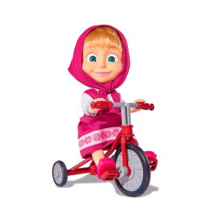 Masha y el Oso - Muñeca con Triciclo