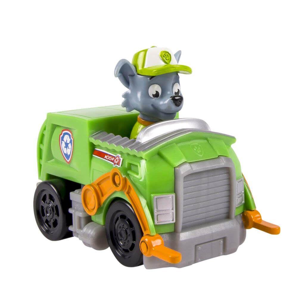 Patrulla Canina - Vehículo y personaje Rocky