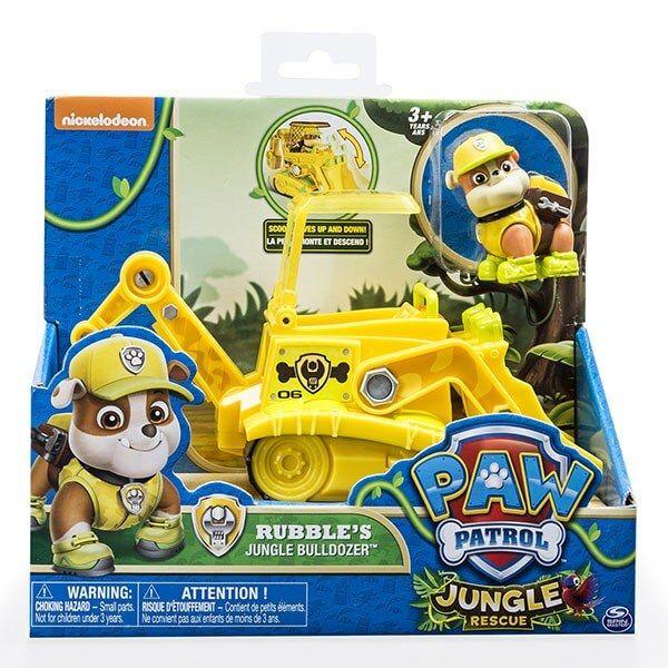Patrulla Canina - Rubble's Jungle Bulldozer - Paw Patrol