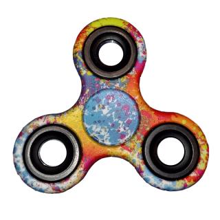 Fidget Spinner - Colorido Estampado - Toy Store