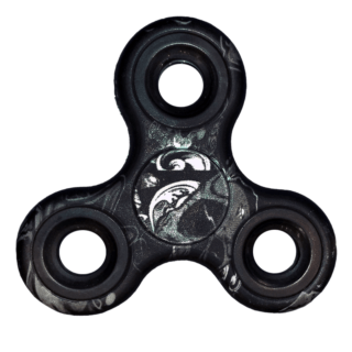 Fidget Spinner - Estampado Negro - Toy Store