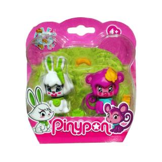 Pinypon-Pack-2-Mascotas-Conejo-y-Mono