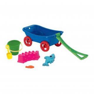 American Plastic - Carro con 6 Accesorios de Playa