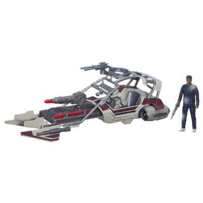 Star Wars - Vehiculo con Figura 10cm Desert Landspeeder