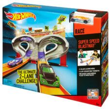 Hot Wheels - Pista de Autos Super Velocidad