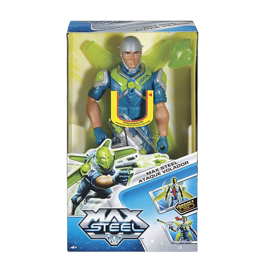 Max Steel - Ataque Volador - Muñeco