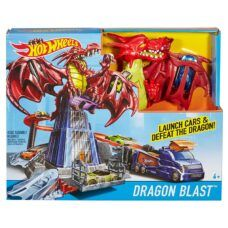 Hot Wheels - Pista de Autos Dragon Explosivo