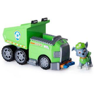 Patrulla Canina - Vehículo con figura Rocky
