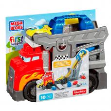 Camión de Carreras con Bloques Encastre - Fisher Price Mega Bloks