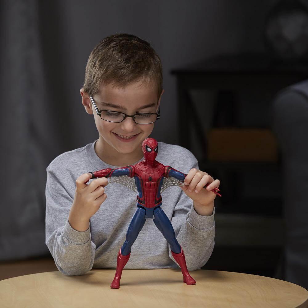 Spiderman - Figura Electrónica 30 cm