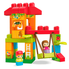 Fisher Price - Mega Bloks Casita del Arbol 29 Pcs