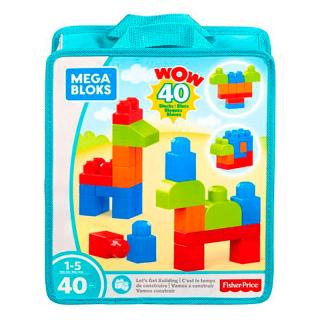 Fisher Price - Mega Bloks Vamos a Construir 40 Pcs