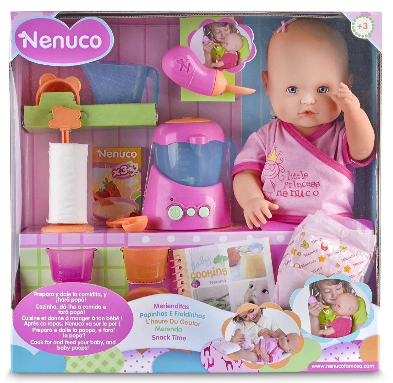 Nenuco - Merienditas Muñeca con accesorios