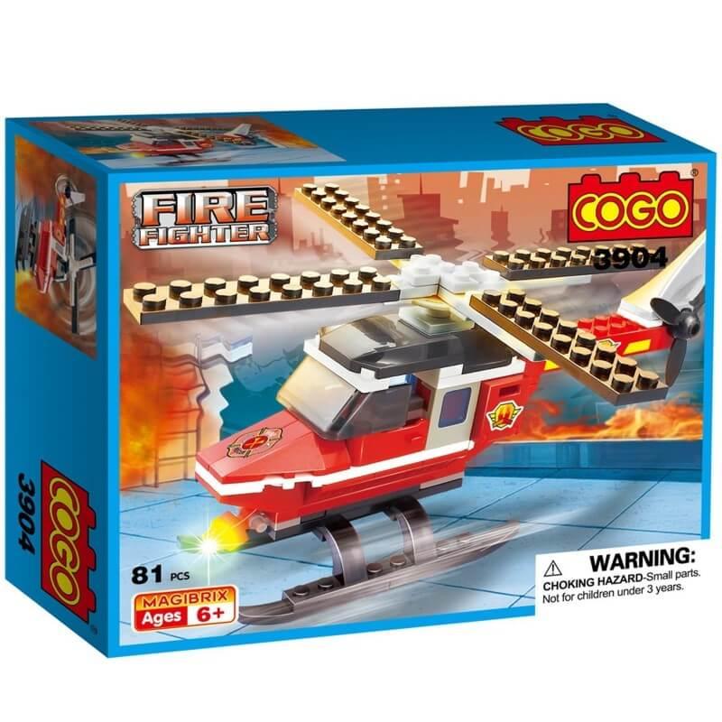 Cogo - Helicóptero de Rescate 81 pcs 3904