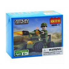 Cogo - Army Action 35 piezas 4600-1