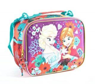 Frozen - Lunchera Térmica Anna y Elsa Frozen (Roja)