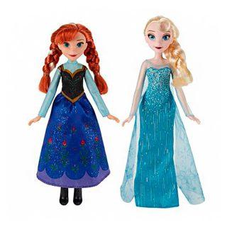 Forzen - Muñecas Anna y Elsa de 30 cm