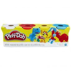 Play Doh - Masas de Moldear x4