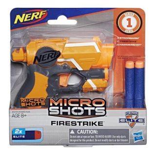 Nerf - Microshots Pistola Lanzadardos