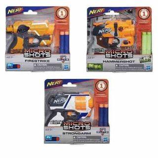 Nerf - Microshots Pistola Lanzadardos Modelos