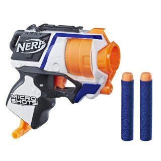 Nerf - Microshots Pistola Lanzadardos Strongarm