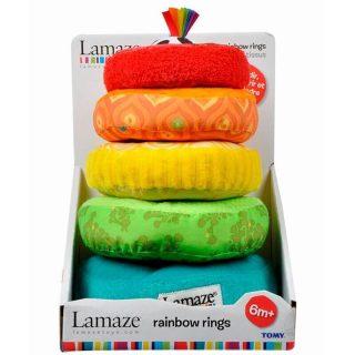 Lamaze - Rainbow Rings Anillos Apilables