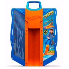 Porta Autitos con Lanzador - Hot Wheels