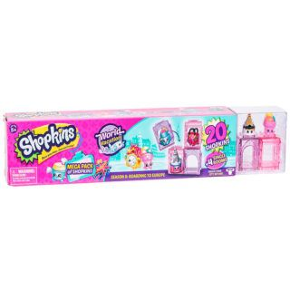 Mega Pack Season 8: Embarque a Europa - Shopkins