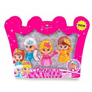 Pinypon - Pack de 3 Princesas