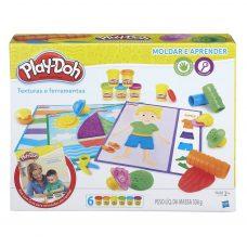 Masas Moldear Texturas y Herramientas - Play doh