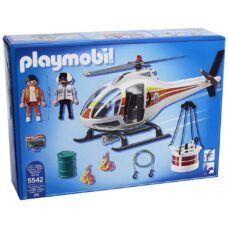 Playmobil 5542 - Helicóptero de Bomberos