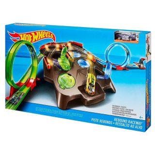 Pista de Autos Super Rebotes - Hot Wheels